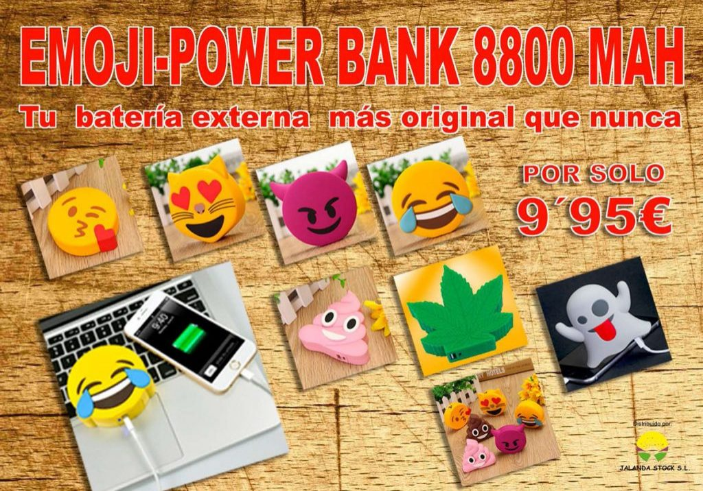 Emoji Power-Bank