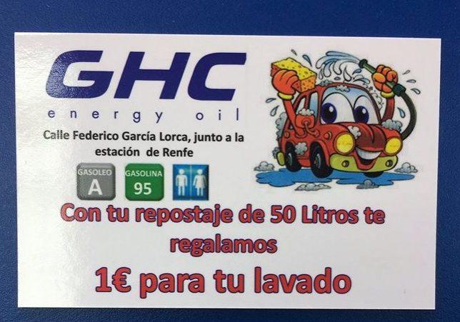 Oferta repostaje GHC Albacete
